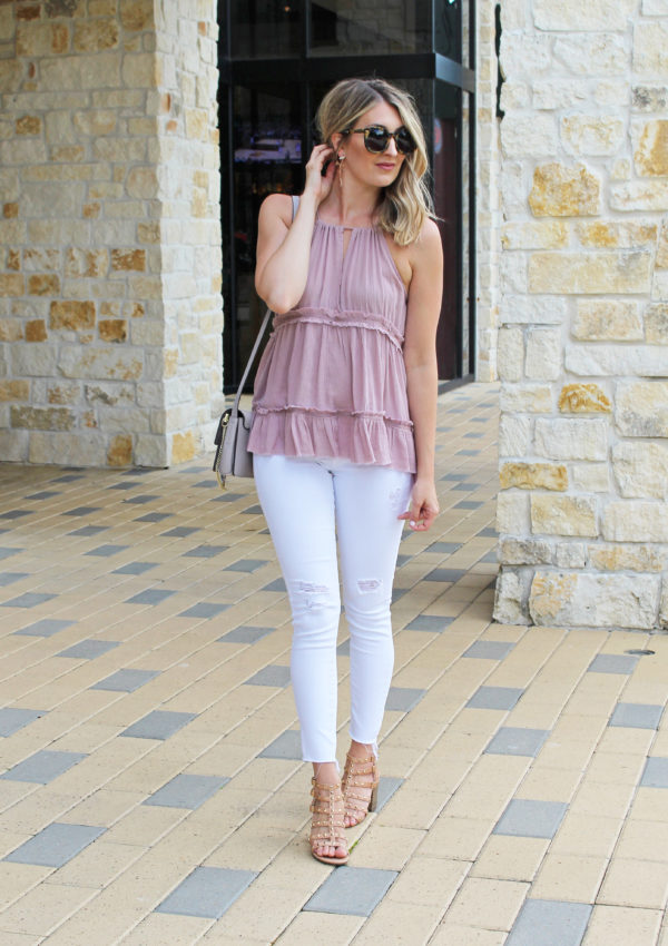 Lavender Tiered Top…
