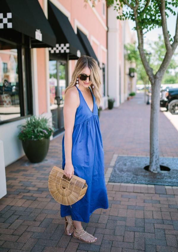 Blue Maxi Dress…