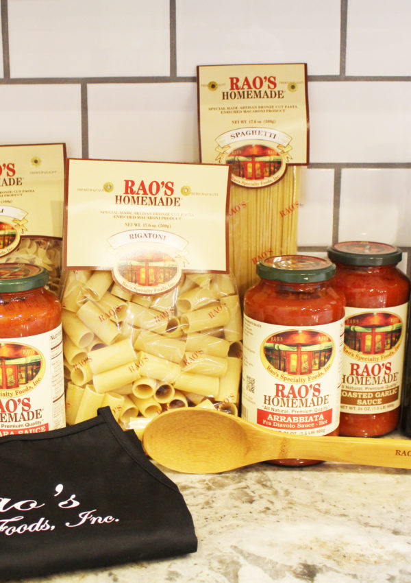 Celebrating Father's Day with Rao's Homemade