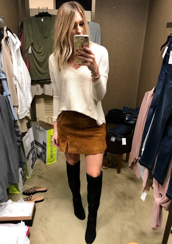 Nordstrom Sale Dressing Room Review…