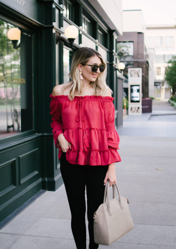 Perfect Off the Shoulder for Fall…