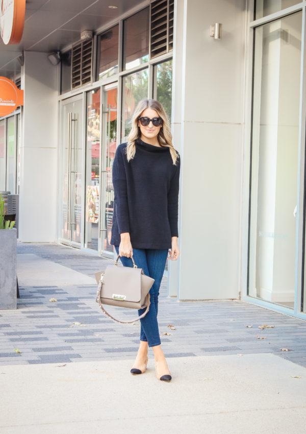 Black Tunic Sweater…