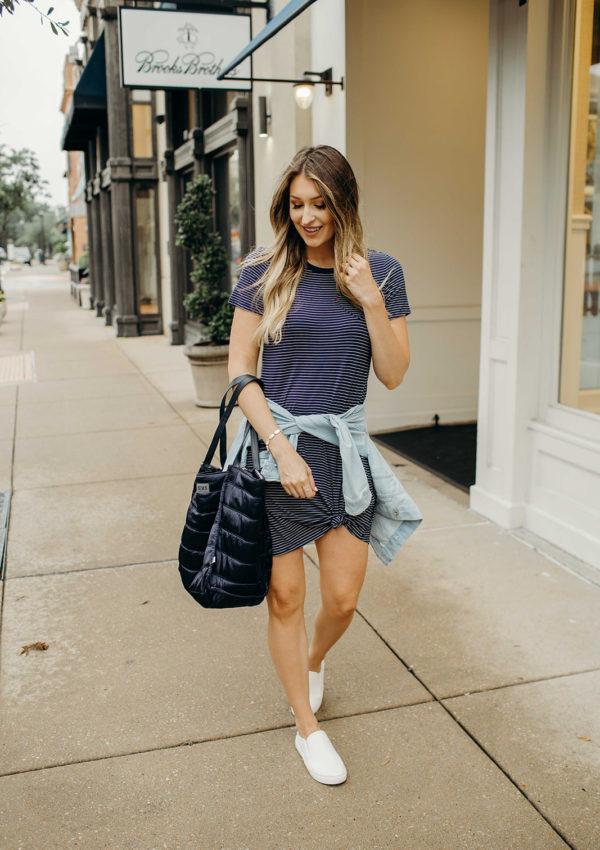 Closet Staple: T-Shirt Dresses…